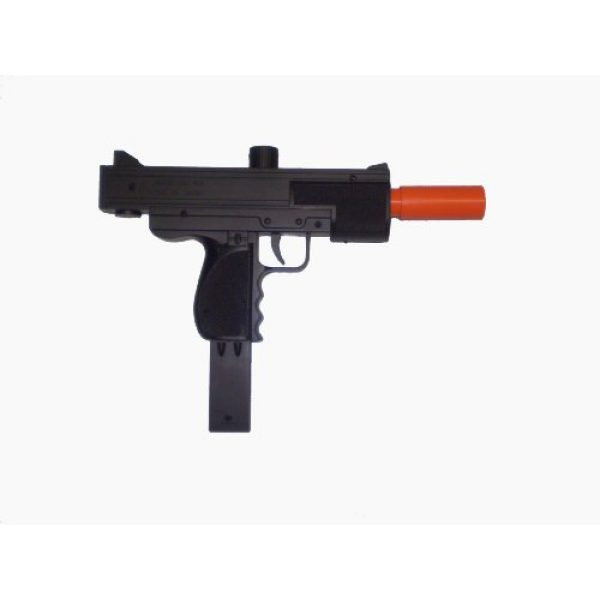 Double Eagle Airsoft Rifle 1 220 FPS Double Eagle Spring Airsoft Mac 10 Uzi Gun w/Sample BBs
