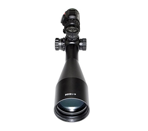 Eastvale Rifle Scope 6 Eastvale 4-16x56SPA Hunting Rifle Scope with Fully-Coated Wire Mil-Dot Red, Green and Blue Illuminated Reticle