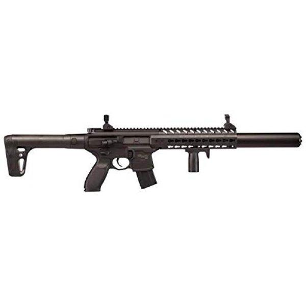 Sig Sauer Air Rifle 2 Sig Sauer MCX .177 Cal Co2 Powered (30 Rounds) Air Rifle, Black, 18 inches