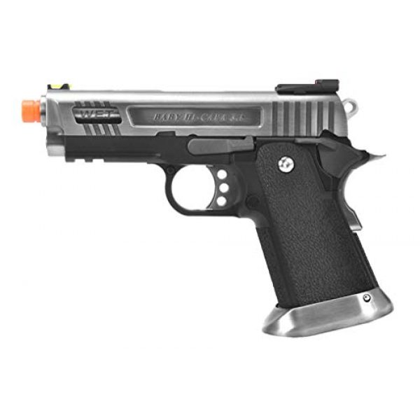 WE Airsoft Pistol 1 WE TECH 3.8 HI-CAPA Full Metal Gas Blowback Airsoft Pistol