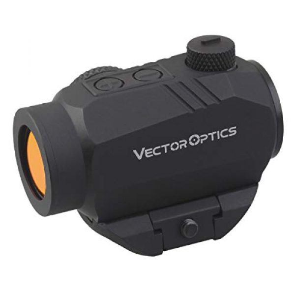 Vector Optics Rifle Scope 6 Vector Optics Harpy 1x22 AR Red Dot Sight Scope with QD Riser Picatinny Mount