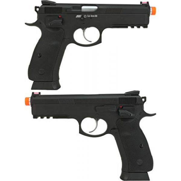 Evike Airsoft Pistol 3 Evike CZ75 SP-01 Shadow Gas Blowback Airsoft Pistol by ASG