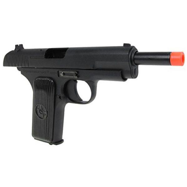 SRC Airsoft Pistol 7 SRC tt33 black star gas blowback full metal with gun case by src(Airsoft Gun)