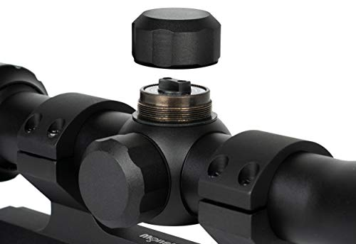 Monstrum Rifle Scope 5 Monstrum 3-9x40 AO Rifle Scope with Parallax Adjustment and Offset Scope Mount