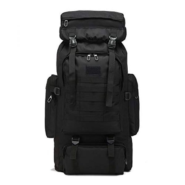 Suny Smiling Tactical Backpack 1 Suny Smiling Tactical Military Molle Backpack-High Capacity 80L Oxford Outdoor Camouflage Tactical Hiking/Camping/Hunting/Trekking/Climbing Waterproof Backpack for Men#7434