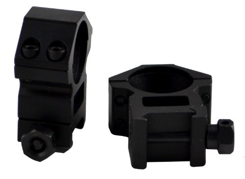 Sniper Rifle Scope Ring 3 Sniper 30 mm High Profile Scope Rings for Picatinny/ Weaver Rail, 4 points contact more Security