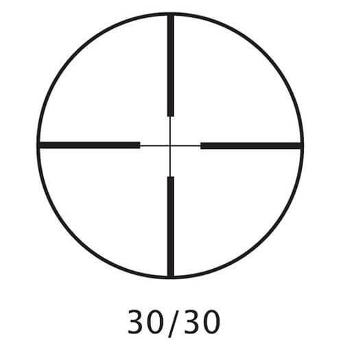 Barsaka Rifle Scope 5 New Barska 3-9x40mm 30/30Rifle Scope with Rings, Silver