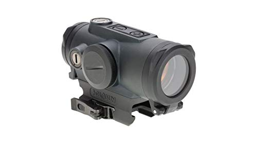 HOLOSUN Rifle Scope 4 Holosun Circle Dot/QD/Titanium HE530G-RD with included Wearable4U Lens Cleaning Towel Bundle