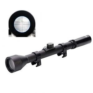 Luger Rifle Scope 1 Luger Tactical 4X Rifle Scope Hunting Shooting Outdoor Sports Game Toy Accessories
