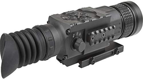 AGM Global Vision Rifle Scope 3 AGM 3093555006PY51 Model Python TS50-640 Medium Range Thermal Imaging Rifle Scope, 640x512 (60Hz) Resolution, 50mm Lens, 2X Optical Magnification, Field of View 14.8x11.8, Waterproof