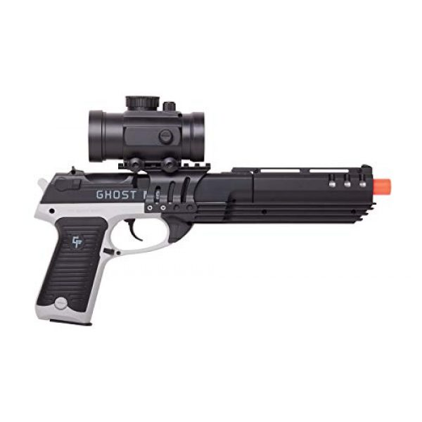 Game Face Airsoft Pistol 2 GameFace GFM39PG Ghost Mayhem Spring-Powered Single-Shot Airsoft Pistol