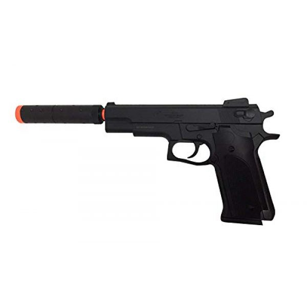 Double Eagle Airsoft Pistol 1 Double Eagle M24 Airsoft Spring Pistol - Powerful 300 FPS Spring Action Airsoft Gun Great Entry Level Airsoft Gun for Fun Fast Clean Inexpensive and Easily maintained