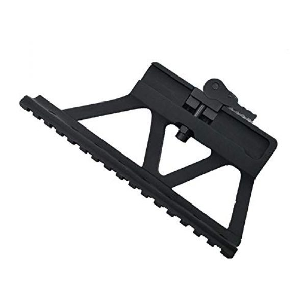 DJym Rifle Scope Mount 3 DJym Scope Universal Side Rail Aluminum Alloy 20Mm Suitable for All Kinds of Sights Rail