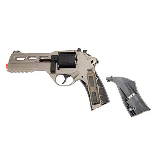 Lancer Tactical Airsoft Pistol 6 Lancer Tactical Limited Edition Airsoft Pistol Chiappa Rhino 50DS CO2 Revolver Silver 328 FPS