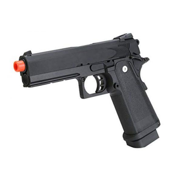 BULLDOG AIRSOFT Airsoft Pistol 2 Airsoft HI-CAPA 4.3 Green Gas Pistol with Free Speed Loader BBS and Gun Case [Airsoft Blowback]