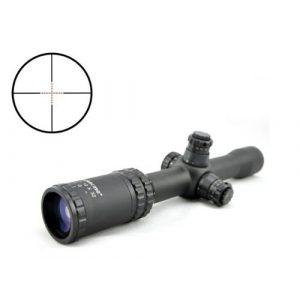 Visionking Rifle Scope 1 Visionking Rifle Scope 2.5-10x32 Riflescopes for Illuminated Wide Angle Zielfernrohr (Black)