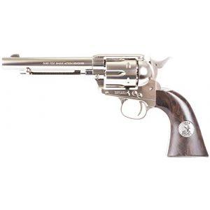 Colt Air Pistol 1 Colt John Wayne CO2 Pellet Revolver, Nickel - 0.177 Caliber