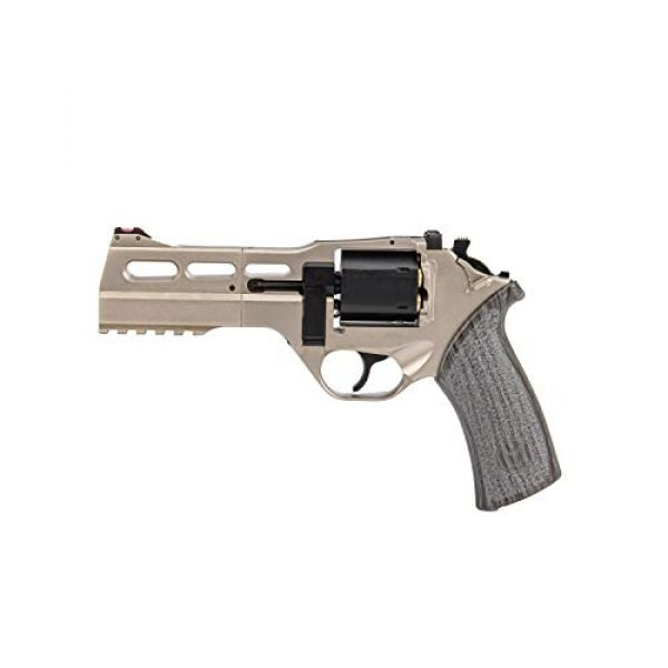 Lancer Tactical Air Pistol 1 Lancer Tactical Limited Edition Airgun Chiappa Rhino 50Ds CO2 Revolver Silver .177 Caliber