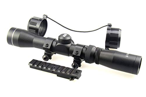 TACFUN Rifle Scope 3 TACFUN AIM Sports Mosin Nagant 2-7x32 Long Eye Relief Scope + M44 M91 30 Scout Mount Package
