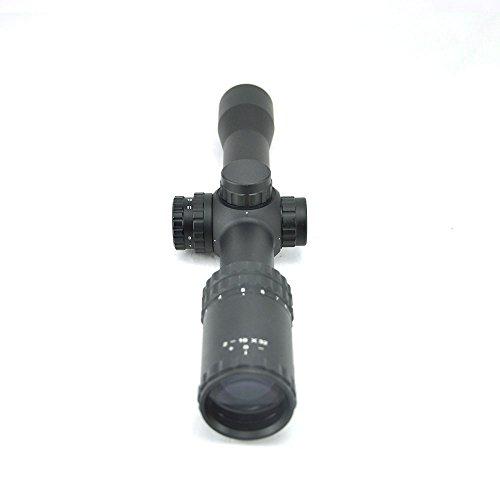 TOTEN Rifle Scope 2 TOTEN Rifle Scope 2-10x32QZ +VDK Hunting Scope with Mount Ring Gun Scope for Hunting