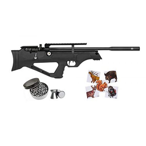 Hatsan Air Rifle 1 Hatsan FlashPup New QE Air Rifle with Pack of Pellets and 100x Paper Targets Bundle