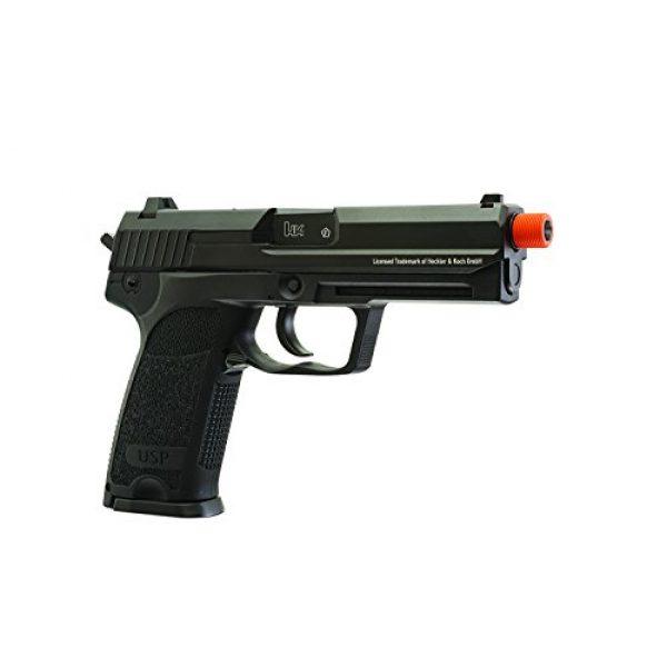 Elite Force Airsoft Pistol 4 Elite Force HK Heckler & Koch USP 6mm BB Pistol Airsoft Gun, Blowback Action, Black, One Size (2275043)