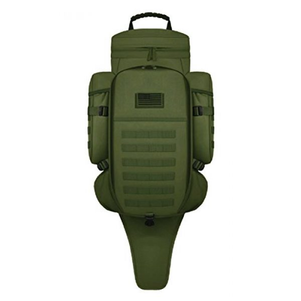 East West U.S.A Tactical Backpack 1 East West U.S.A RT538/RTC538 Tactical Molle Military Assault Rucksacks Backpack, Olive