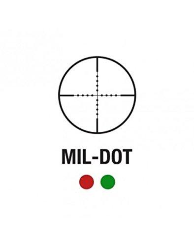 Aim Sports Rifle Scope 3 Aim Sports JLML3940G Tactical 3-9x 40mm Obj 36.6-13.6 Ft @ 100 Yds FOV 1 Tube