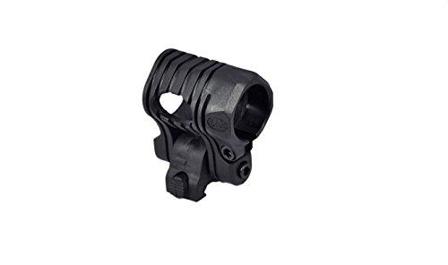 "Tactical Scorpion Gear Rifle Scope 1 Tactical Scorpion Gear TSG-GMW04 Pivoting Weaver Scope Flashlight Mount 26mm 1""- Black"
