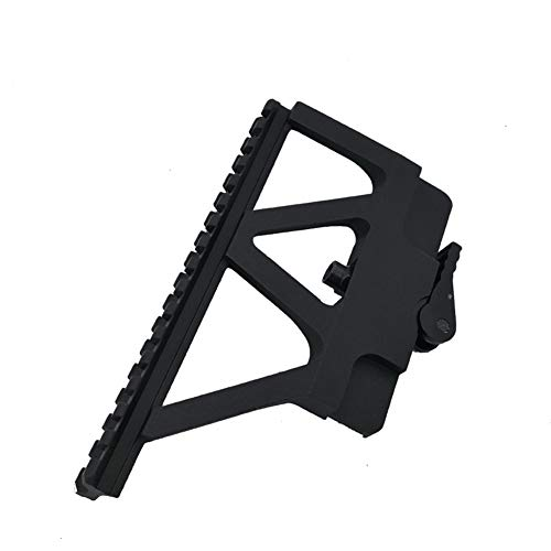 DJym Rifle Scope Mount 5 DJym Scope Universal Side Rail Aluminum Alloy 20Mm Suitable for All Kinds of Sights Rail