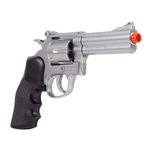 UHC Airsoft Pistol 2 TSD Sports UA933S 4 Inch Spring Powered Airsoft Revolver (Silver)