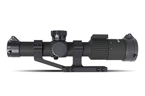 Monstrum Rifle Scope 2 Monstrum G3 1-4x24 First Focal Plane FFP Rifle Scope | ZR305 H-Series Offset Scope Mount | Bundle