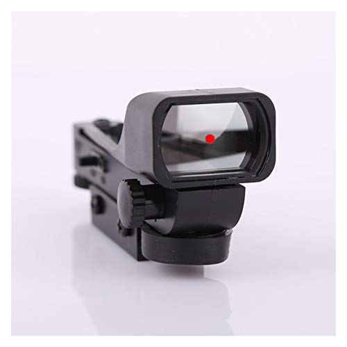 Without Rifle Scope 3 Toy Gun Sight Red dot Sight Magnification 11mm red Green dot Sight Hunting Holographic Shotgun Rail Mounted Mirror fit (Color : 1pc 11mm)