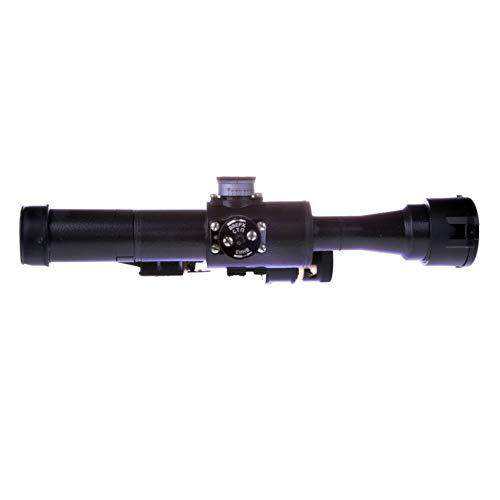 BelOMO Rifle Scope 5 BelOMO POSP 4x24 M. Optical Rifle Scope. Russian Side Mount. 1000m Rangefinder. 1 MOA. Combloc
