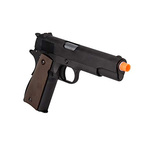 WE Airsoft Pistol 5 WE Tech M1911 Metal GBB Airsoft Pistol CO2 Version Black