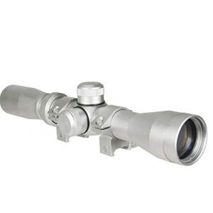 DB TAC INC Rifle Scope 1 DB TAC INC Silver Color 2-7x32 Long Eye Relief Scout Scope