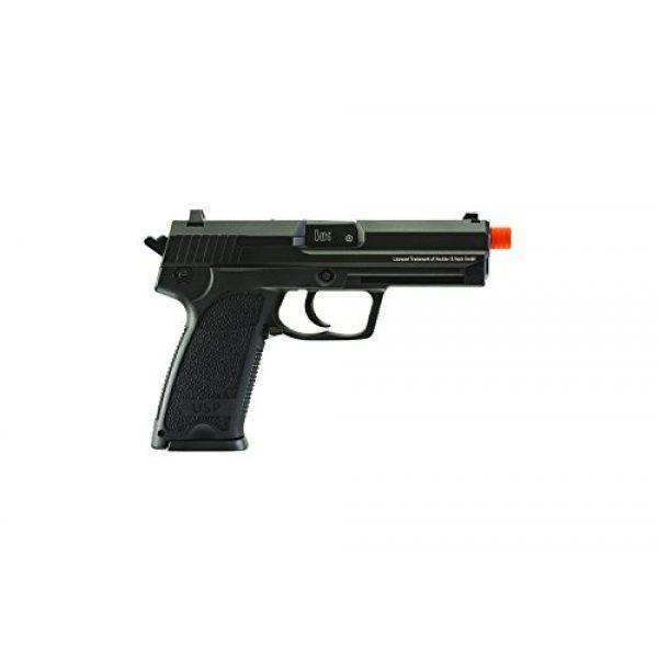 Elite Force Airsoft Pistol 3 Elite Force HK Heckler & Koch USP 6mm BB Pistol Airsoft Gun, Blowback Action, Black, One Size (2275043)
