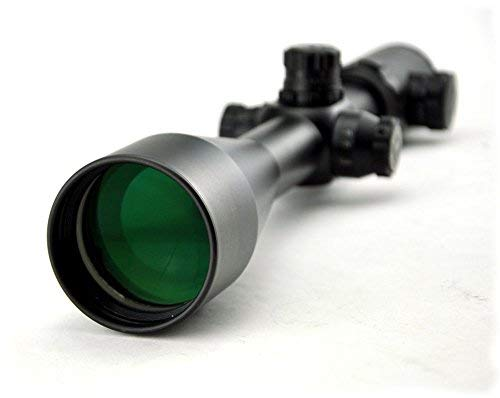 Visionking Rifle Scope 1 Visionking Rifle Scope 3-30x56 Riflescope Side Focus 10 Times Zoom Mil-dot Long Range Tactical with Mount Ring (Black)