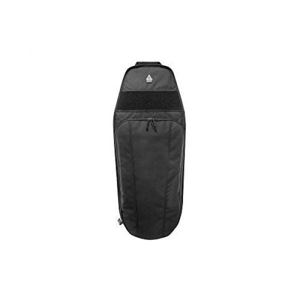 "UTG Tactical Backpack 1 UTG 34"" Alpha Battle Carrier Rapid Deployment Pack, Black (PVC-PSP34B)"
