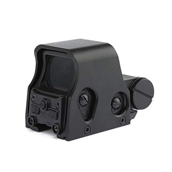 DJym Rifle Scope 5 DJym HD Fast Aiming Accessories, Red Dot Sights Waterproof Shockproof 22mm Rail