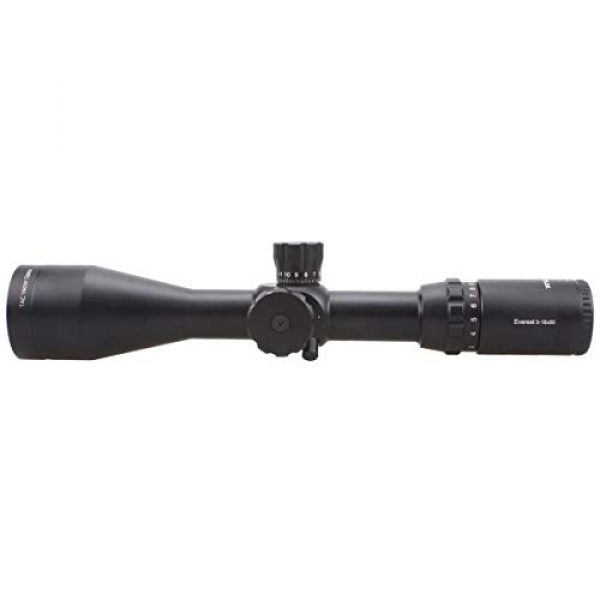 Vector Optics Rifle Scope 4 Vector Optics Everest 3-18x50mm Gen II 1/4 MOA Tactical Riflescope with Long Eye Rilief, Free 30mm Mount Rings, Free Honeycomb Sunshade and Free Flip-up Lens Cover (Matte Black)