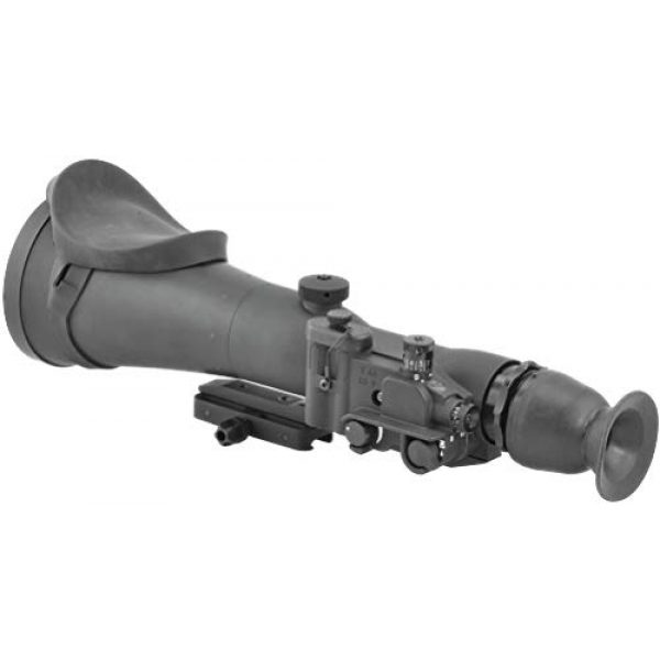 """PRG Defense Rifle Scope 4 PRG Defense 15WOP623353011 Model Wolverine Pro 6 3NL1 Gen 3+""""Level 1"""" Night Vision Rifle Scope, 6X Magnification, 178mm Objective Lens, 5.7° FOV, 50m to Infinity Focus Range, 30mm Eye Relief"""
