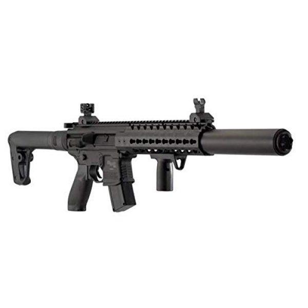 Sig Sauer Air Rifle 4 Sig Sauer MCX .177 Cal Co2 Powered (30 Rounds) Air Rifle, Black, 18 inches