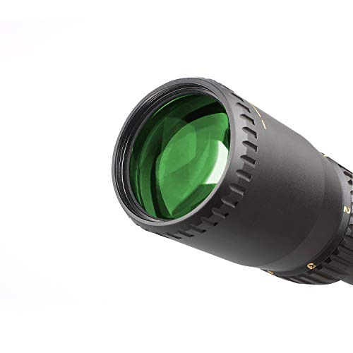 Sniper Rifle Scope 7 VT1-6X24FFP First Focal Plane (FFP) Scope with Red/Green Illuminated Reticle Includes Scope Mount