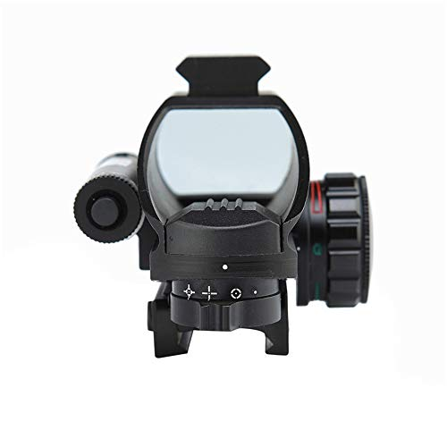 DJym Rifle Scope 1 DJym 1X Magnification Fast Sight, Additional Red Red Dot Sight Top with Rail Mounting Tactical Accessories