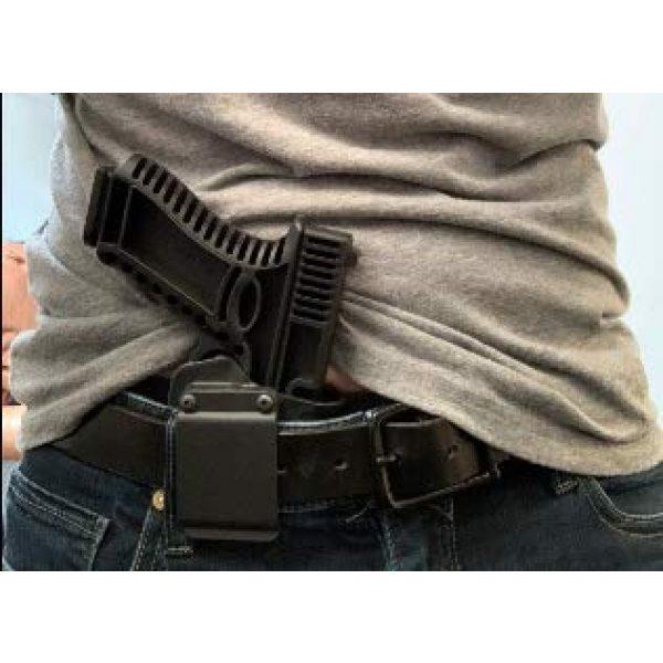 GARRET MACHINE Rubber Training Pistol Blue Gun 3 GARRET MACHINE Plastic Inert Training Pistol Compatible with Glock (White, 19)