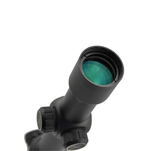 Visionking Rifle Scope 7 Visionking Rifle Scope 1-12X30 Wide Field Riflescopes Illuminated for Hunting Tactical with a Scope Mount