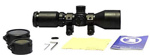 Osprey Global Rifle Scope 2 Osprey Global Compact Scope 3-9X42 with Rangfinder Reticle