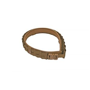 Grey Ghost Gear Tactical Belt 1 Grey Ghost Gear UGF Battle Belt with Padded Inner, Coyote Brown, Small