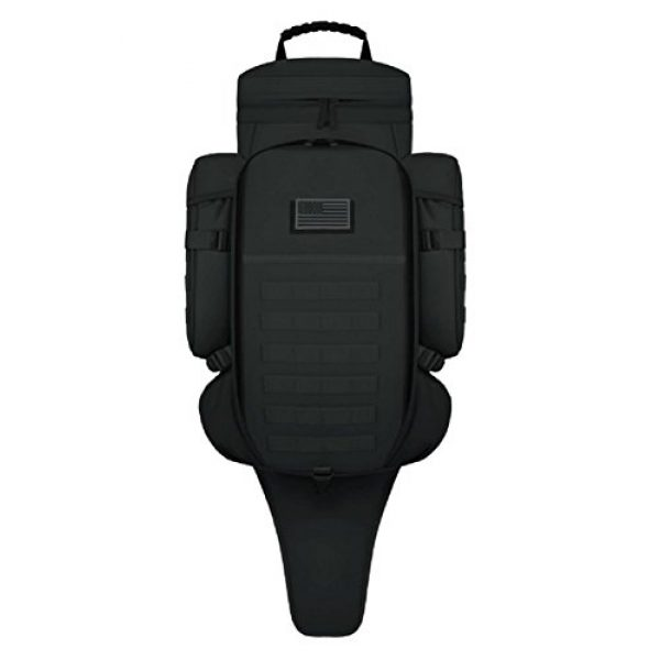 East West U.S.A Tactical Backpack 1 East West U.S.A RT538/RTC538 Tactical Molle Military Assault Rucksacks Backpack, Black